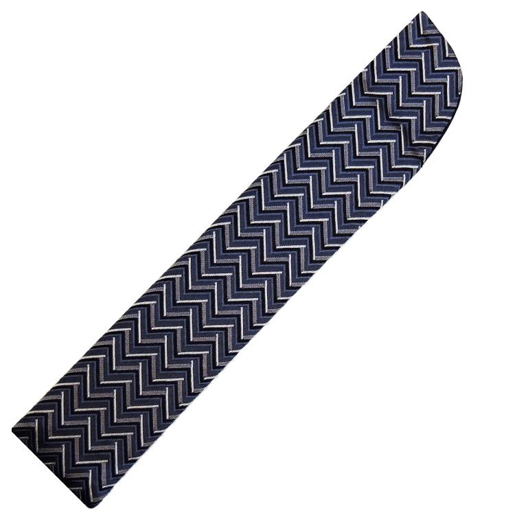扇子袋 紫紺
