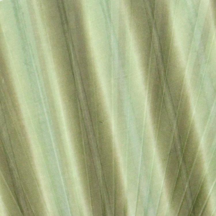 扇面アップ 緑