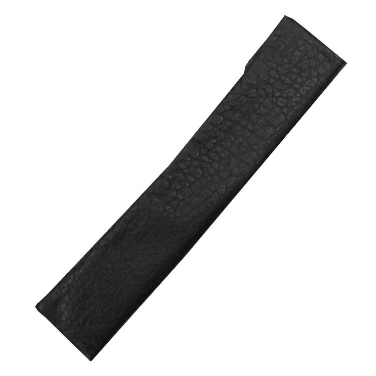 扇子袋は本革を使用しています。裏地はジャガード織りになっており扇子をやさしく守ります。