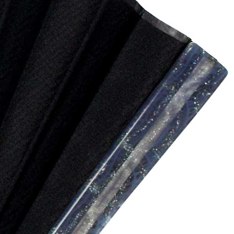 綿花からできているセルロースアセテートに着色をしたカラフルな親骨。