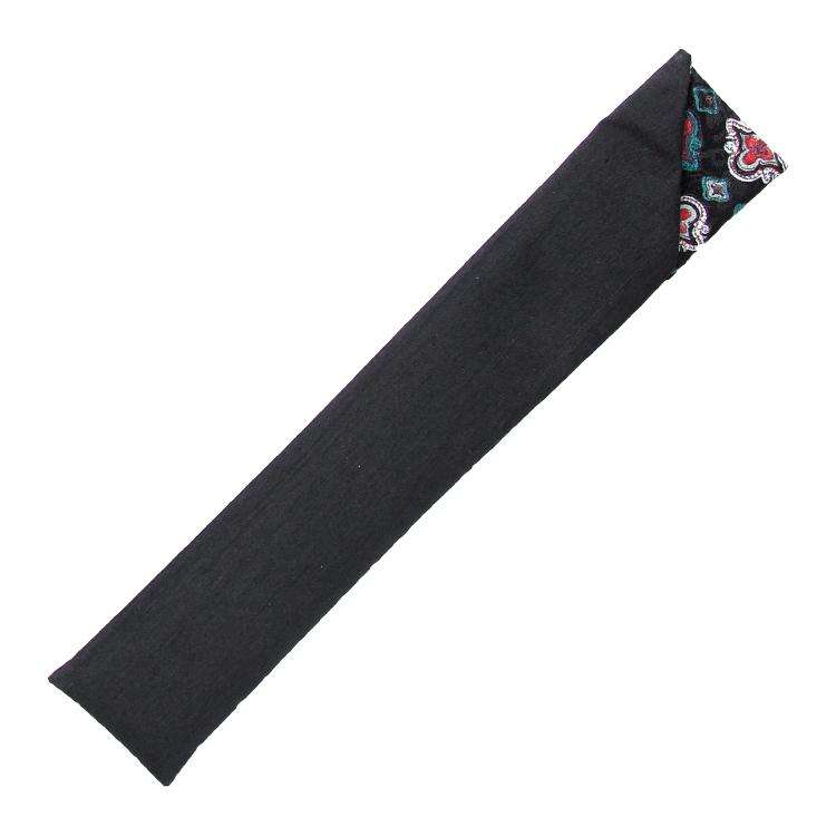 扇子袋 ブラック