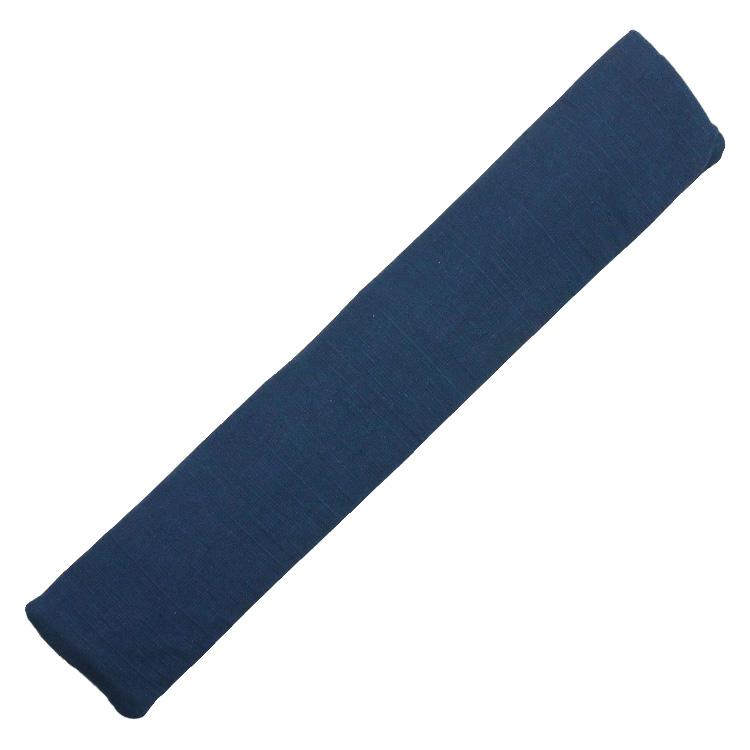 扇子袋は3柄共通で紺の綿の袋です。