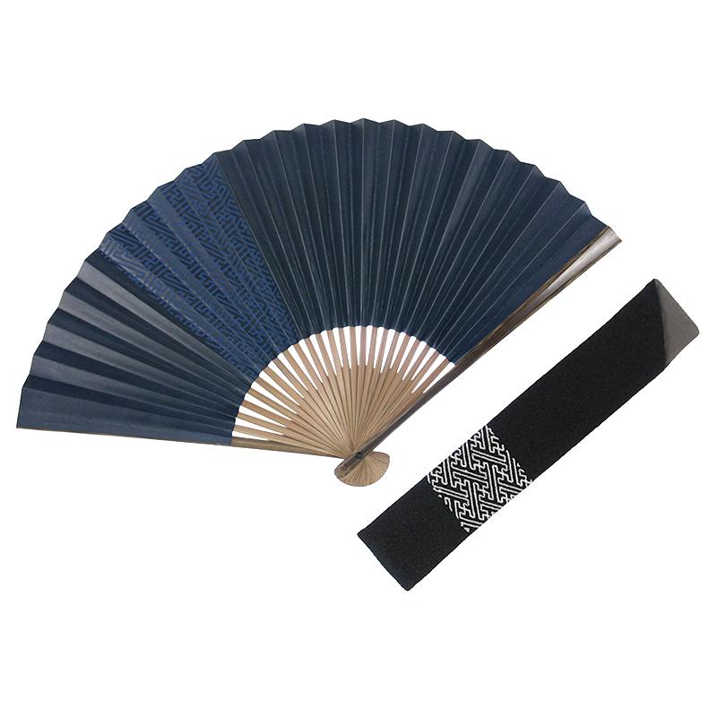紗綾形渋扇(全3種類)