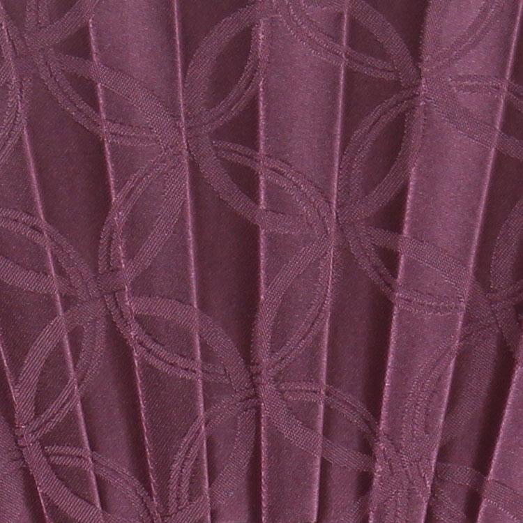 扇面アップ 紫
