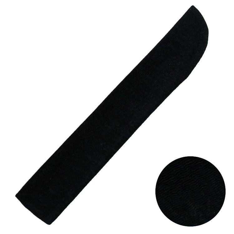 扇子袋はうずら織のちりめん生地を使用したシンプルな形です。