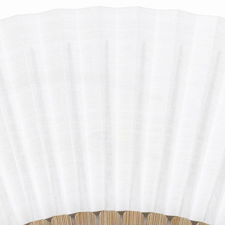 裏面は白地にうっすらと刷毛引き加工が施されています。