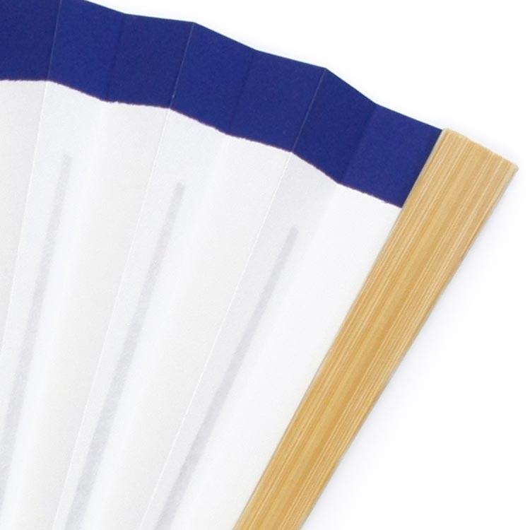 親骨は爽やかなイメージの白竹です。