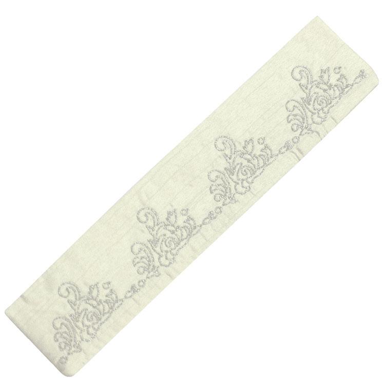扇子袋 ホワイト