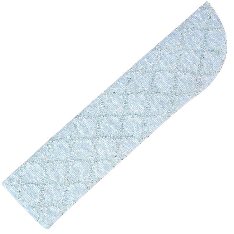 扇子袋 ブルー