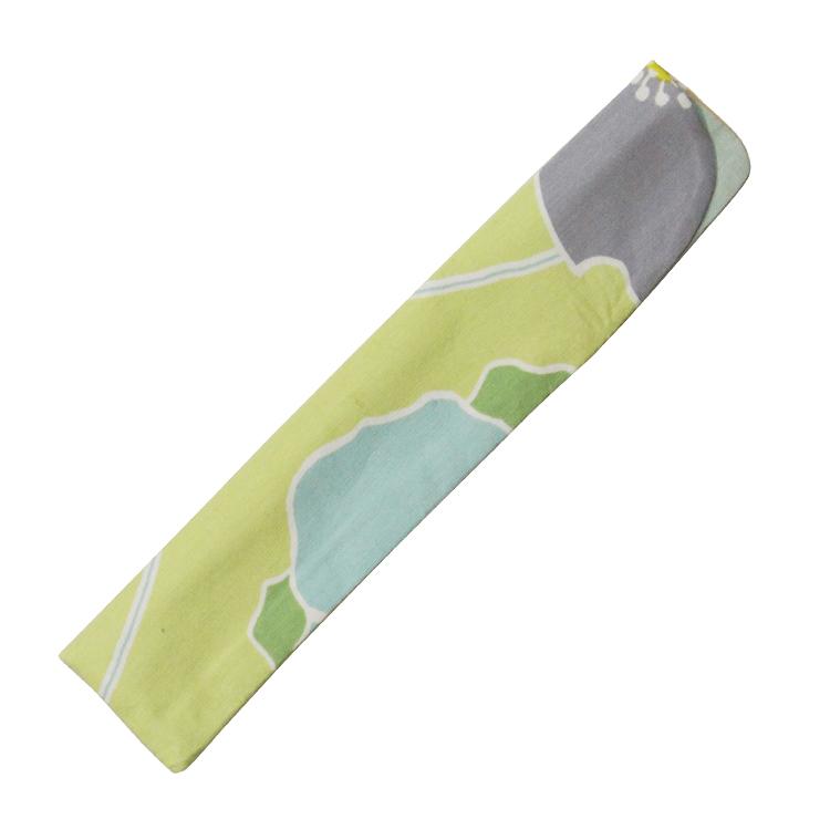 扇子袋 グリーン
