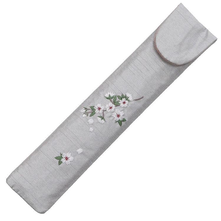 扇子袋 桜。