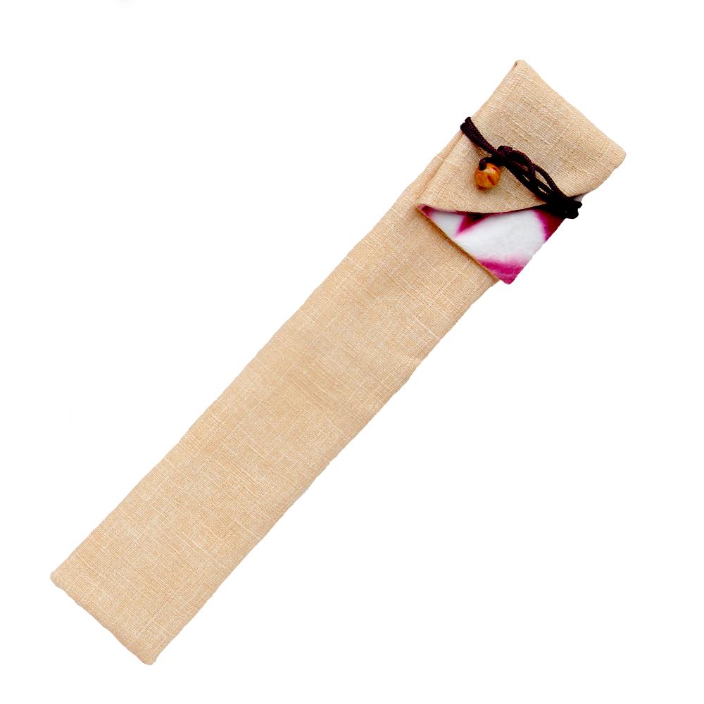 亀甲ピンク 扇子袋