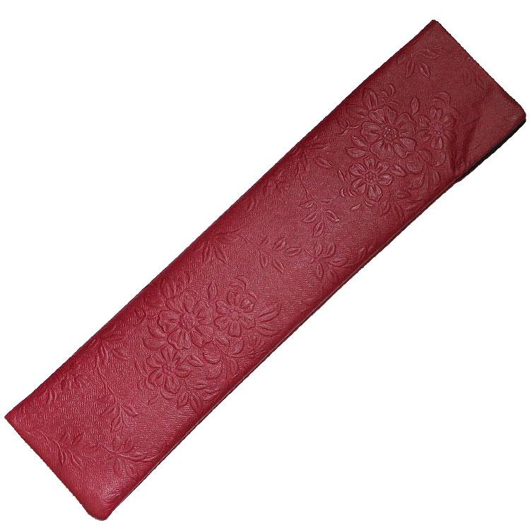 扇子袋 レッド
