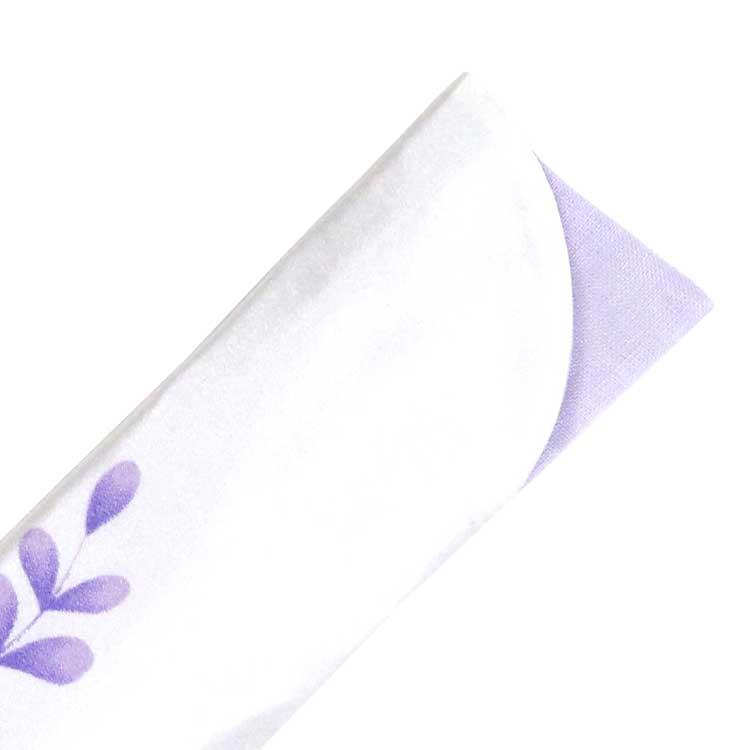 扇子袋は同系色の裏生地が少し見えるお洒落なデザイン。