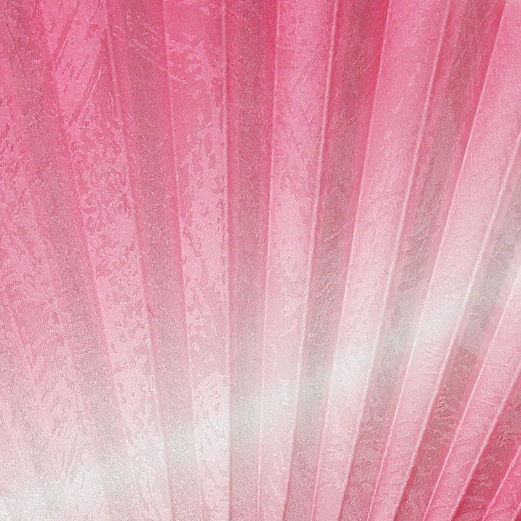扇面アップ ピンク