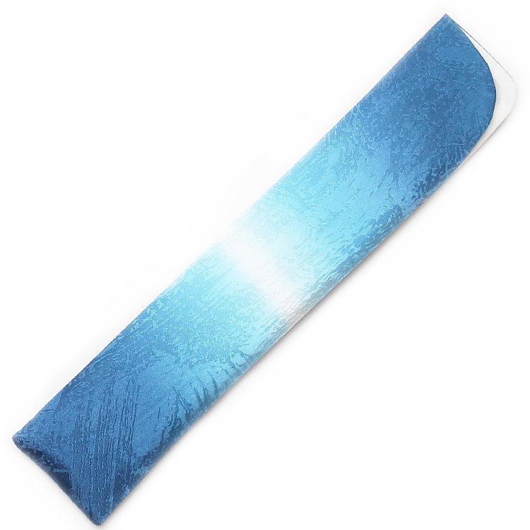 扇子袋アップ ブルー