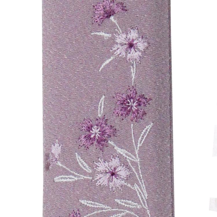 扇子袋の刺繍部分