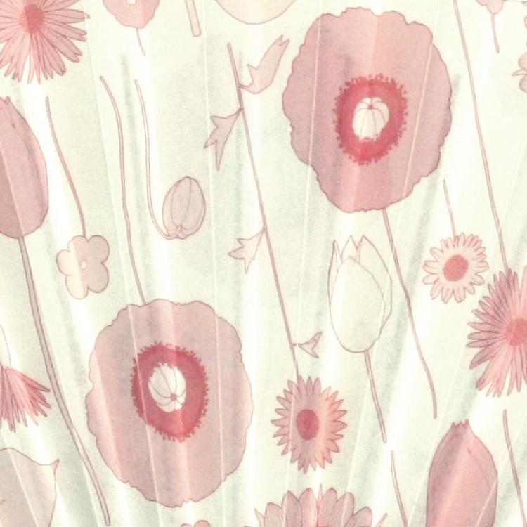 裏面アップ 美しき花々