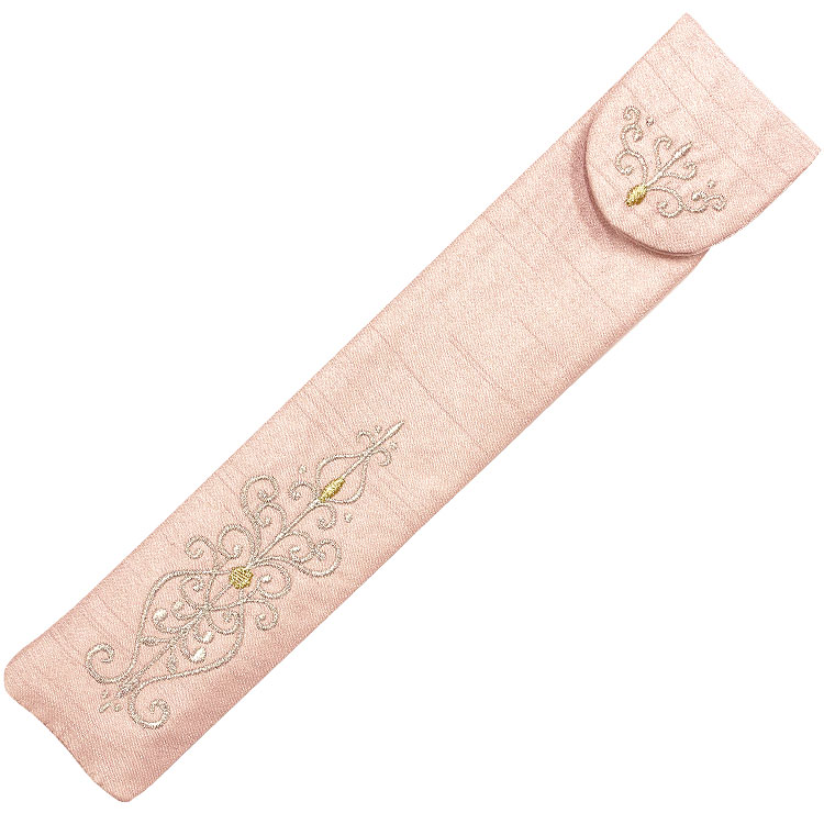 扇子袋 ピンク