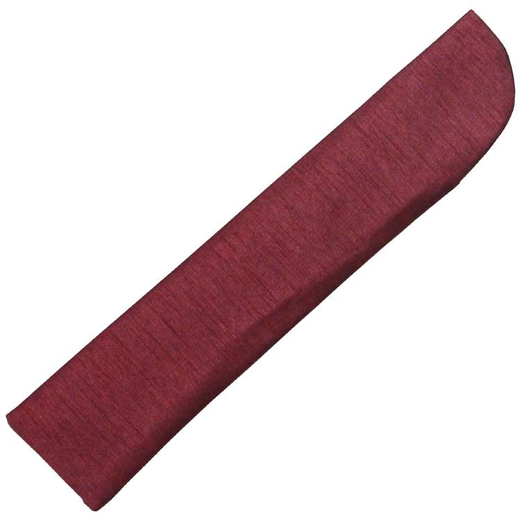 扇子袋は親骨の色に合わせた光沢のあるシャンタン生地です。