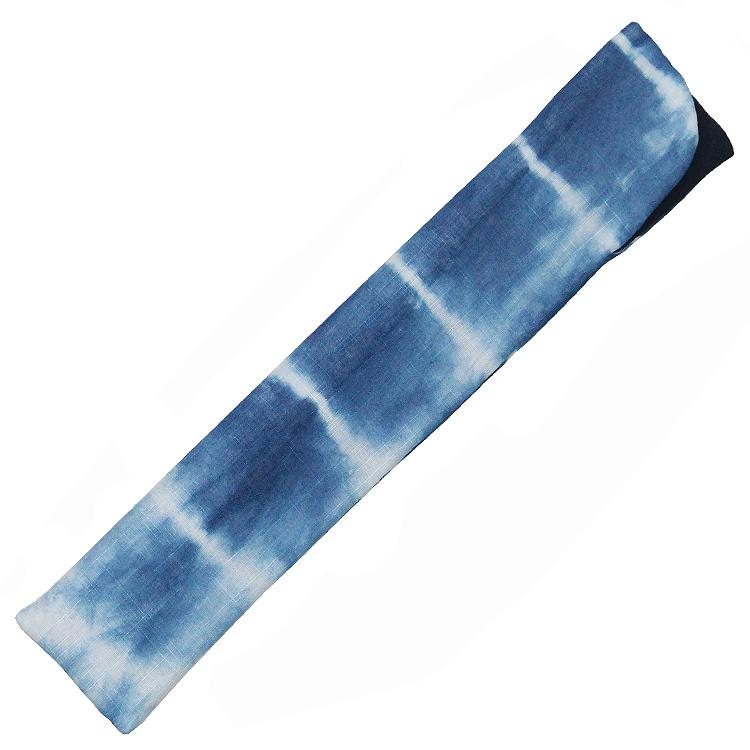 扇子袋 ブルー(本藍染)