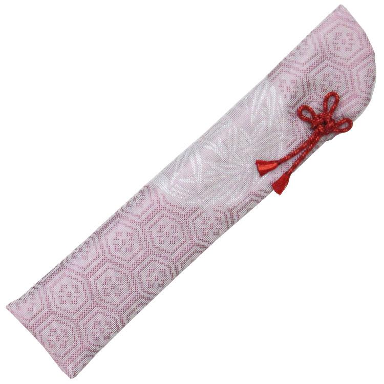 扇子袋 桜鼠色