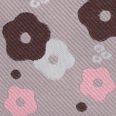 着物の帯と同じ手法で織られたジャガード生地で丁寧に仕上げました