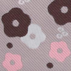 着物の帯と同じ手法で織られたジャガード生地で丁寧に仕上げました。